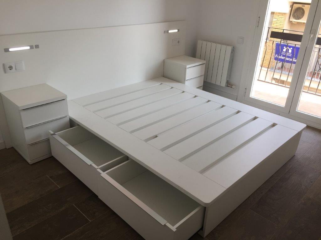 Dormitori laminat Blanc